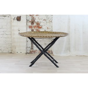Moroccan Brass Coffee Table