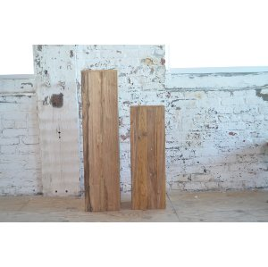 Teak Pillars - Thin tall