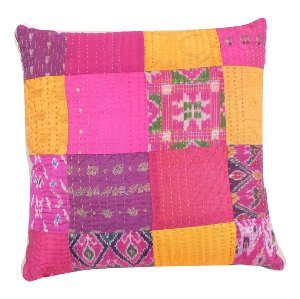 Indian Patchwork Pillow