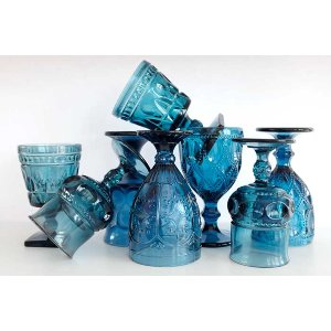 Cobalt Blue Goblet Collection