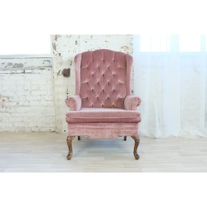 Sophia Blush Arm Chair