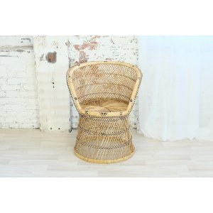 Boho Wicker Chair