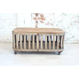 Nutmeg Crate Coffee Table