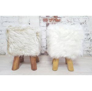 Nugget fur stools