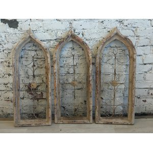 White Gothic Windows