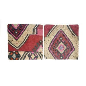 Red/Raspberry Kilim Pillows