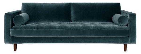 Hamilton Pacific Blue Sofa