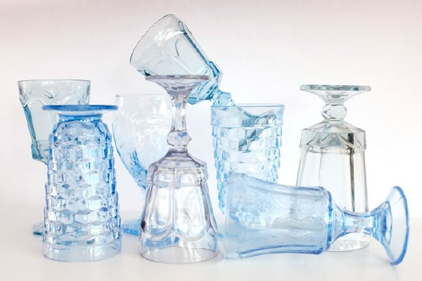 Light Blue Goblet Collection