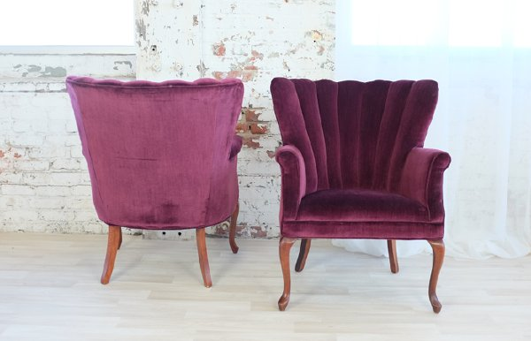 Red Red Wine Armchair