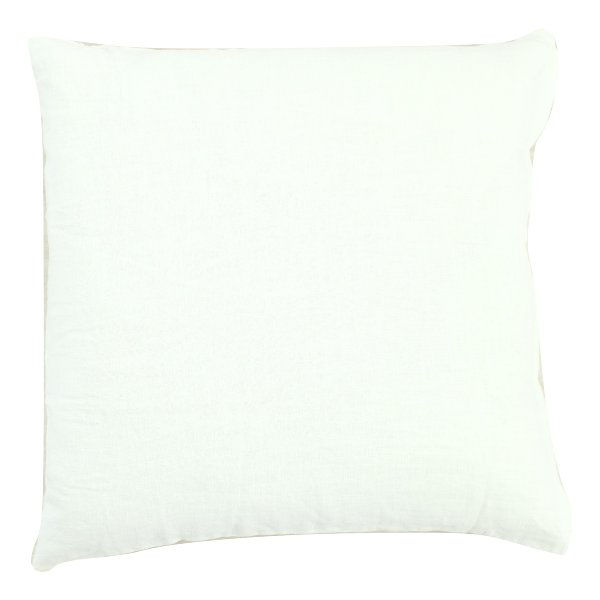 White Linen Pillow