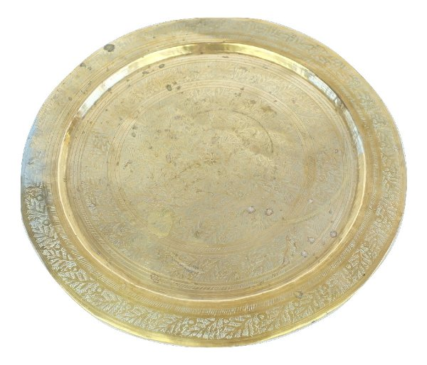Small Round Brass Tray
