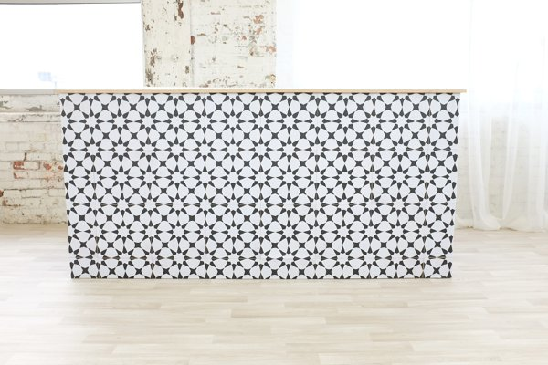 Moroccan Star Tile Bar