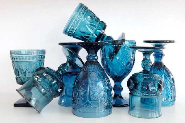 Cobalt Blue Goblet Collection