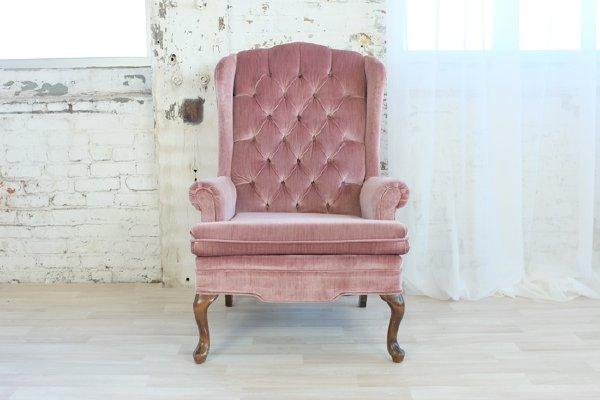 Sophia Blush Arm Chair