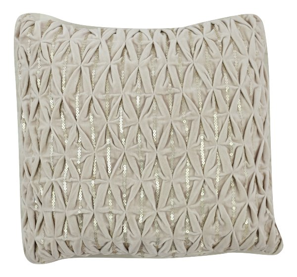 Dusty Plum Sequin Pillow