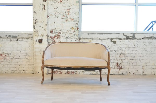 Avery Ivory Settee