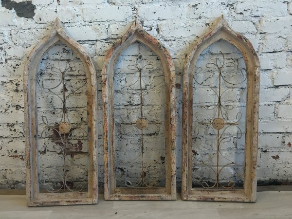 White Gothic Windows