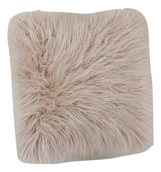 Blush Fur Pillow