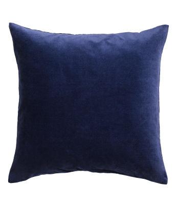 Navy Velvet Pillows