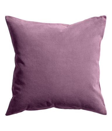 Fig Velvet Pillow