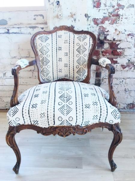 Mudcloth Arm Chair