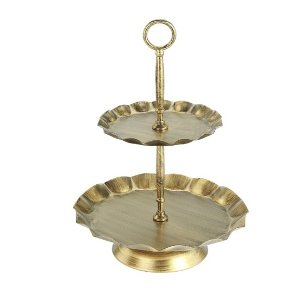 Chic 2-tiered tray