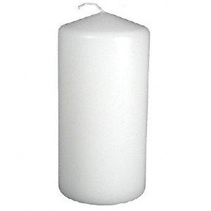 Medium White Pillar Candle