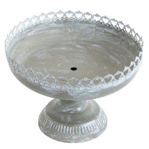 Courtly Pedestal Serving Bowl