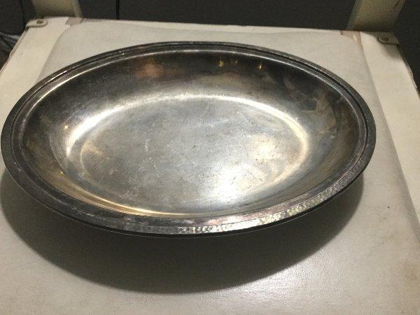 Silver Oval Platter