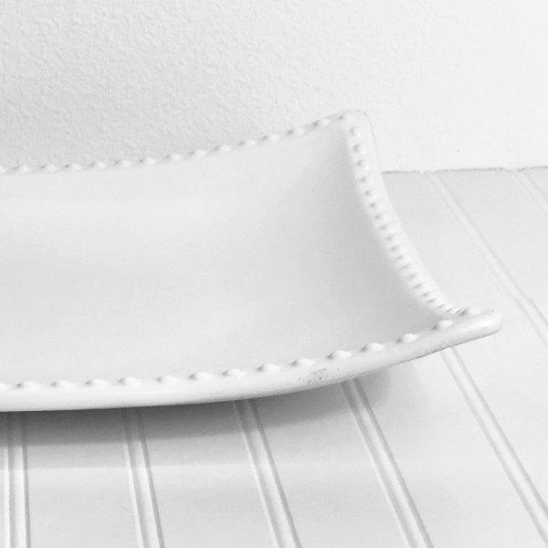 Delectable White Platter