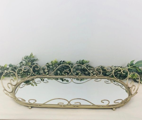 Elaborate Mirror Tray