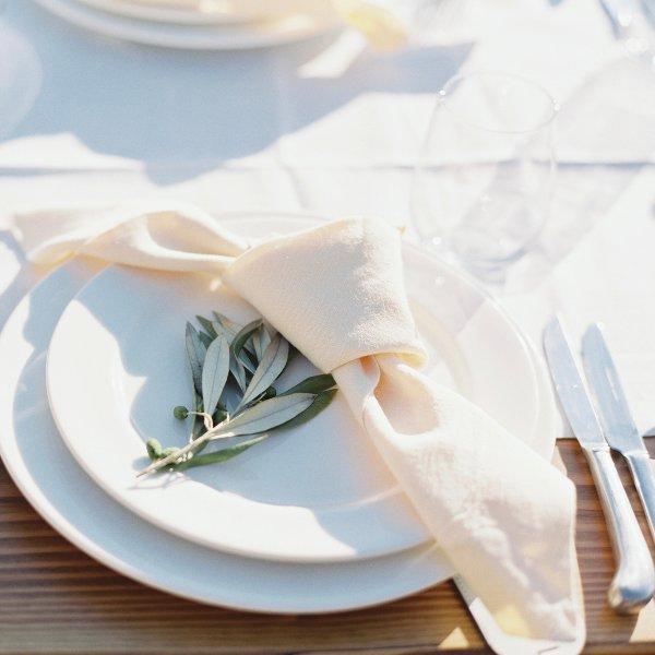 White Salad Plates