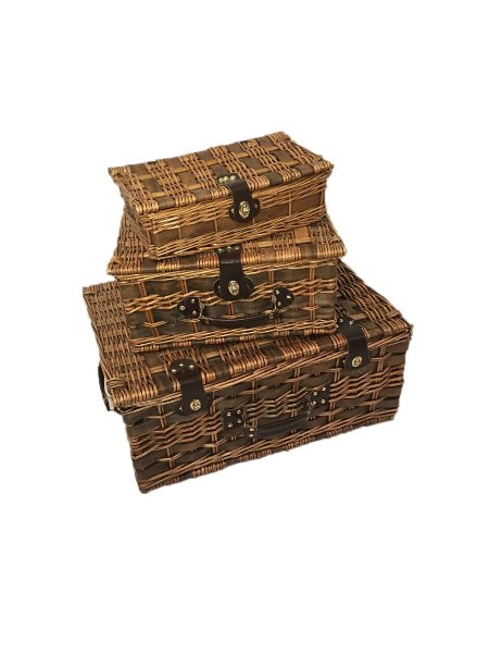 Handsome Wicker Luggage