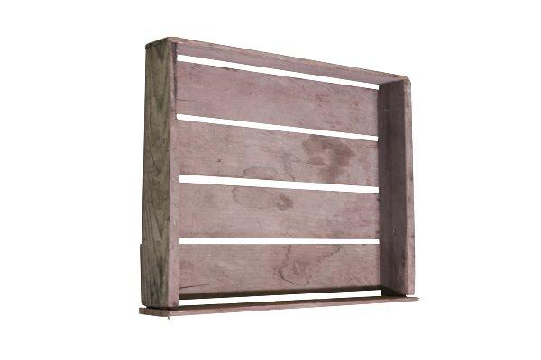 AlderWood Crate Tray