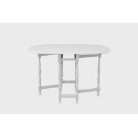 Versatile White Wooden Table