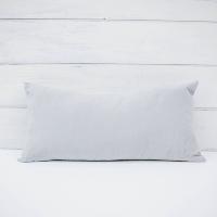 Oblong Steel Blue Pillow