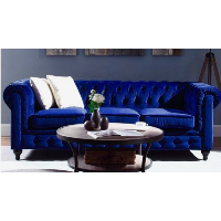 Cobalt Chesterfield