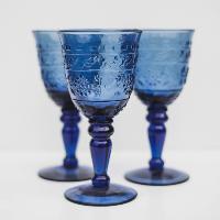 Sapphire Stemware