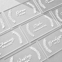 Acrylic Escort Cards