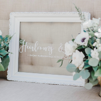 Heirlooms Frame (personalized)