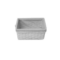 Fair White Basket