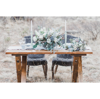 Stately Sweetheart Table
