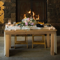 Barn Wood Sweetheart Table