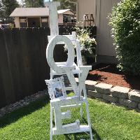 Lovesome White Ladder