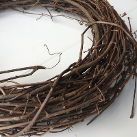 Dried Twig Grapevine Wreath