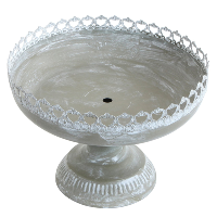 Courtly Pedestal Serving Bowl