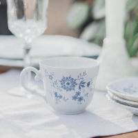 Blue Daisy Teacup