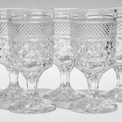 Clear Goblets/glasses