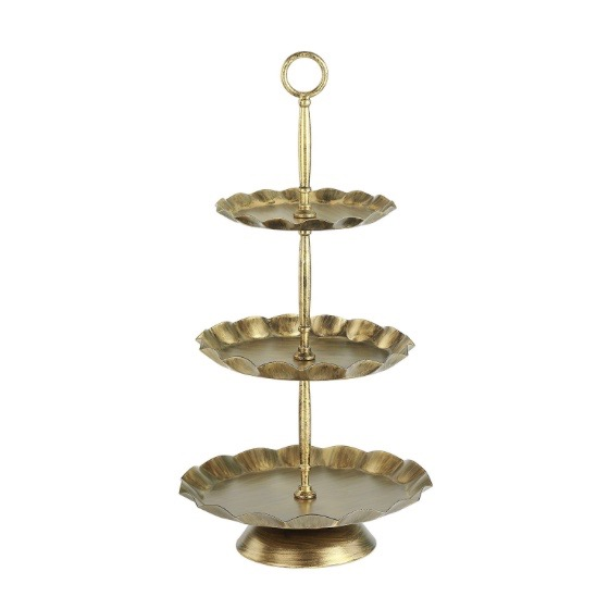 Chic 3-tiered tray