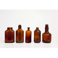 Assorted Brown Glass Bottles